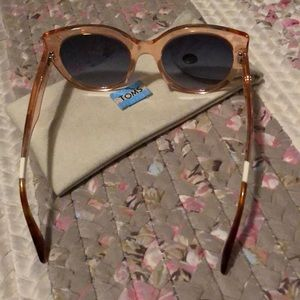809bc2d57446 Toms Accessories - TOMS LUISA PEACH CRYSTAL SUNGLASSES